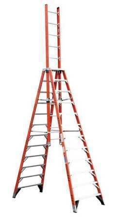12 Ft Trestle Extension Ladder E7412 Werner Free Shipping Werner Ladder Extension Trestle Ladder Step Ladders Trestles