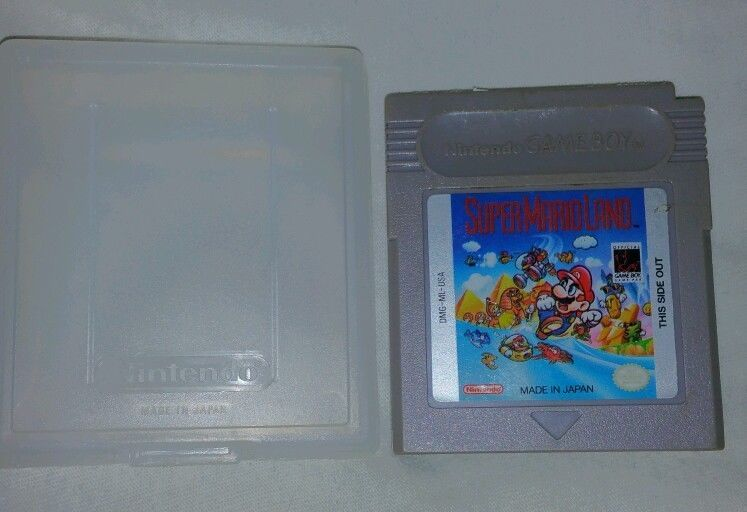 Rare Vintage Original Nintendo Game Boy Video Cartridge Super Mario Land 1989 #Ebay  #VideoGames #Vintage #NES #Nintendo #Gameboy #SuperMario
