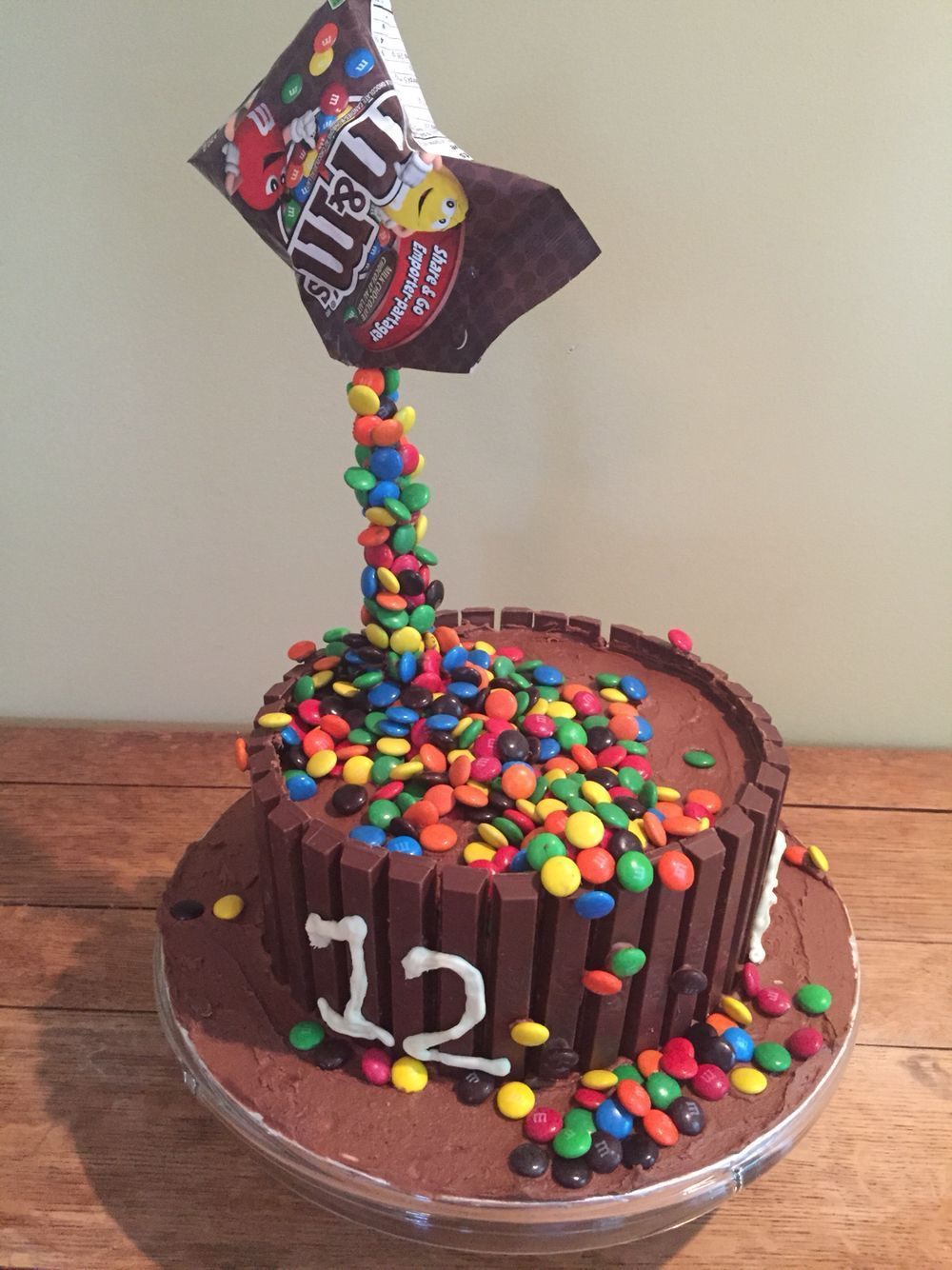 Cake made for my 12 year old a lot of fun to make but