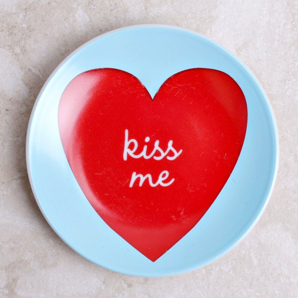 these sweet valentine message dishes are perfect for giving to the girlfriends who light up your