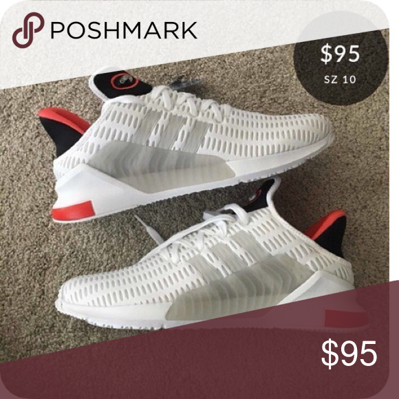 new high recognized brands vast selection Adidas Climacool 02/17 BZ0246 White/Red size 10 Brand new ...