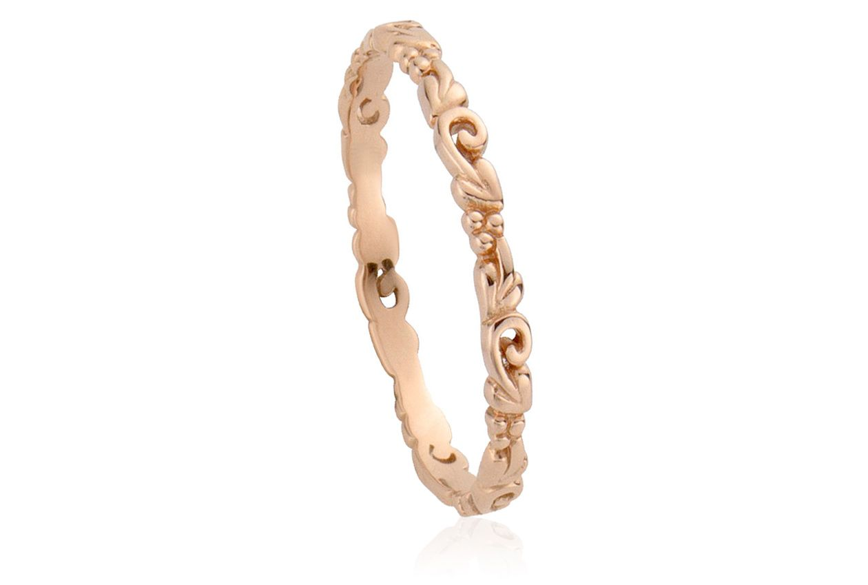 f82d6ae27041d Rose Gold Stackable Rings | 9ct Rose Gold Tree of Life Affinity ...