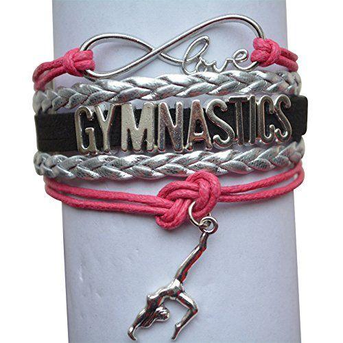 Infinity Collection Gymnastics Bracelet Girls Gymnastics Bracelet Gymnastics Jewelry for Gymnast