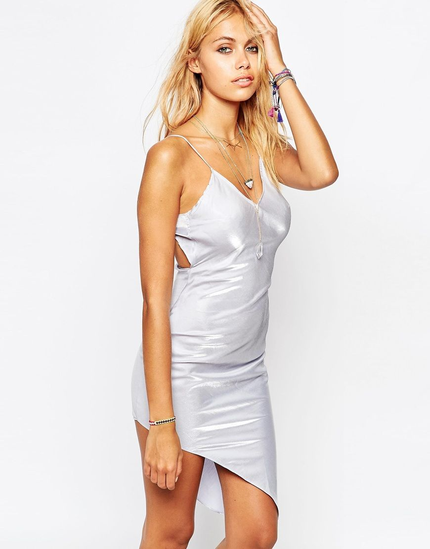 Tiger Mist 90s Asymmetric Slip Dress | New and elegant looks ...