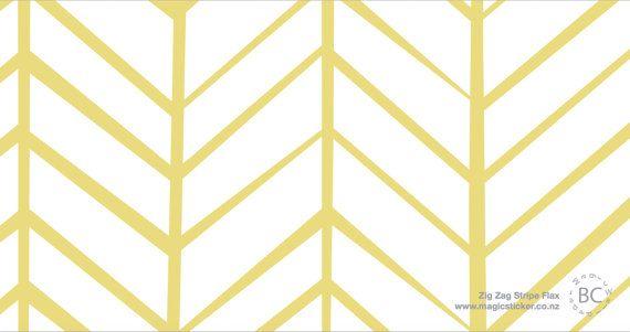Herringbone Wallpaper Herringbone Lemon Yellow By Friztin Etsy Herringbone Wallpaper Herringbone Wall Paint Herringbone Wall