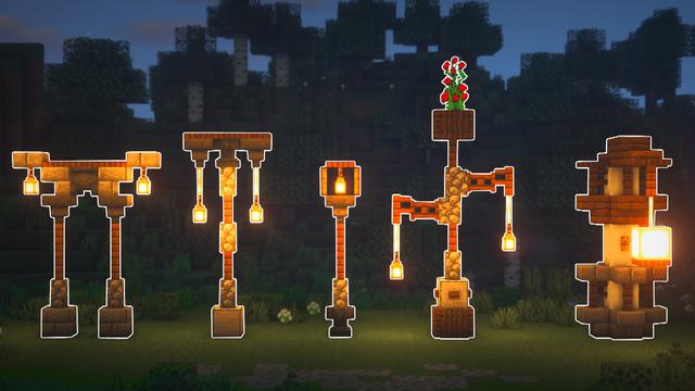 5 Unique Lamp Post Designs to bring brightness to
