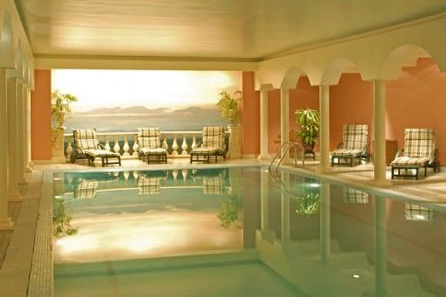 sweet indoor pools. who wouldnt want an Indoor pool  Interiors Pinterest