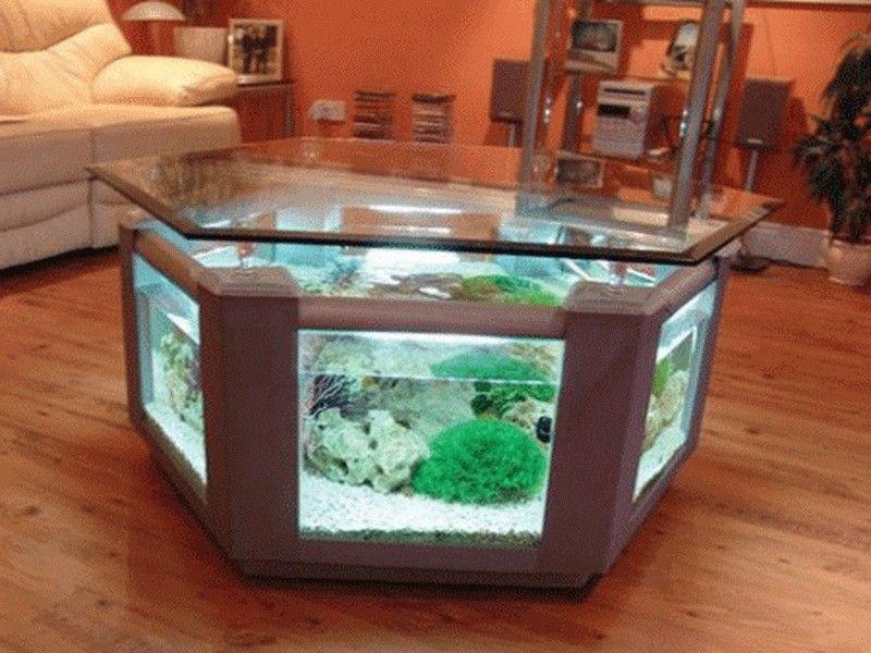Funky Fish Tank Decor Ideas Best Home Design And Garden Ideas Aquarium Coffee Table Fish Tank Table Fish Tank Coffee Table