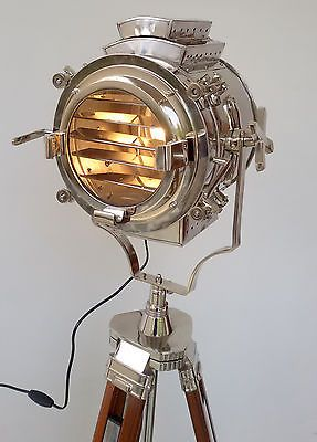 Vintage Hollywood Studio Floor Lamp Searchlight Spot Light