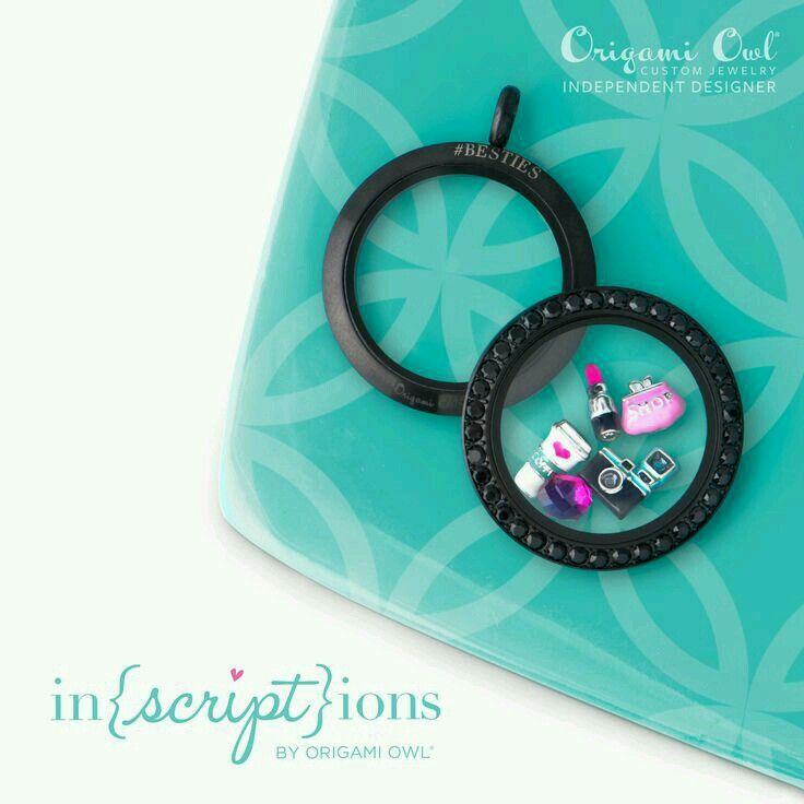 I love the black swarovski crystals!! Shop at Whatchamacallit.origamiowl.com Eva #29014 (714)497-5266 10% of your first order this month