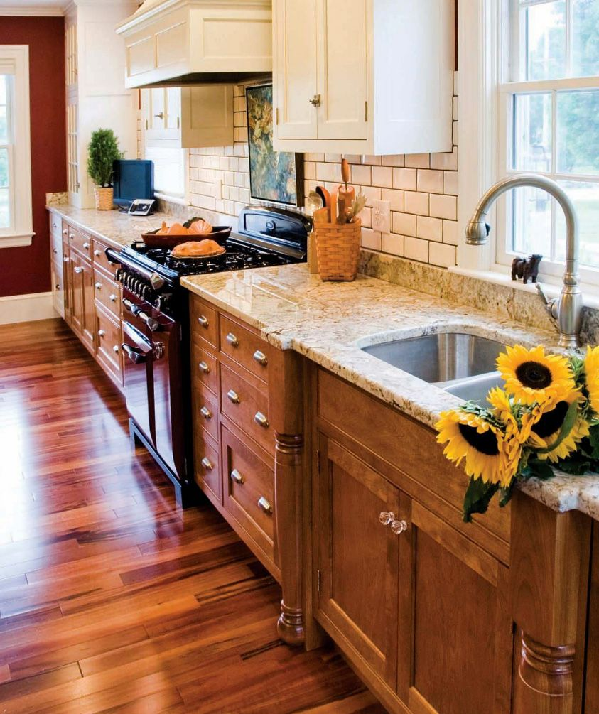 Best Accent Home Garden Magazine Wooden Kitchen Floor 400 x 300