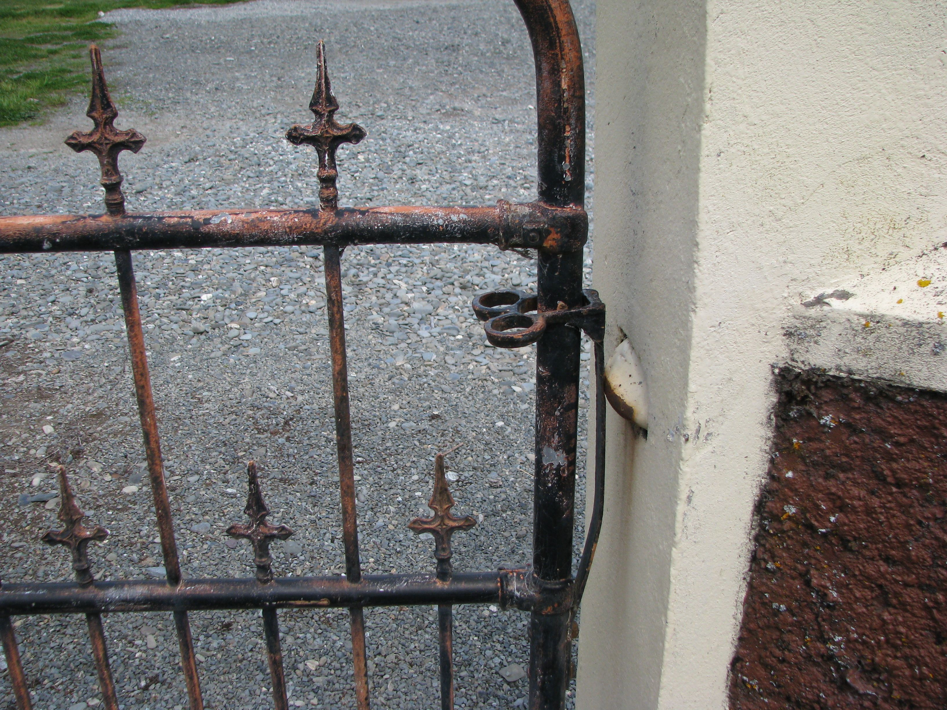 Old Cemetery Gate Latch, South Island NZ. Photography By Bev Corbellini
