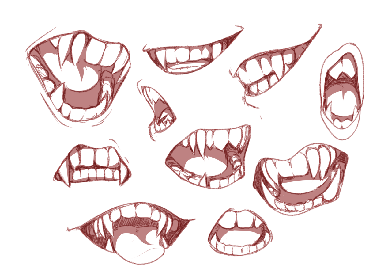 Pretty Amazing To Be Something At Least Lips Drawing Demon Drawings Art Reference Photos