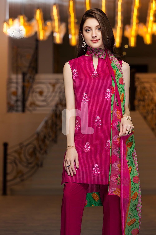332d646331 Elegant lawn unstitched pret 3 piece dress by Nishat Linen summer  collection 2019#springcollection #spring #readytowear #pretwear #unstitched  #online #linen ...