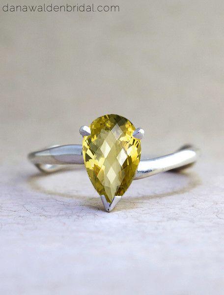 Under 2500 Engagement Rings Dana Walden Bridal Engagement Ring Designe Citrine Ring Engagement Custom Engagement Rings Unique Engagement Rings Affordable