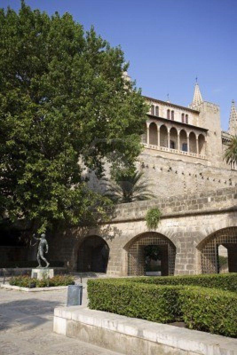 Castillo De Bellver Siglo Xiv Palma De Mallorca Mallorca Islas