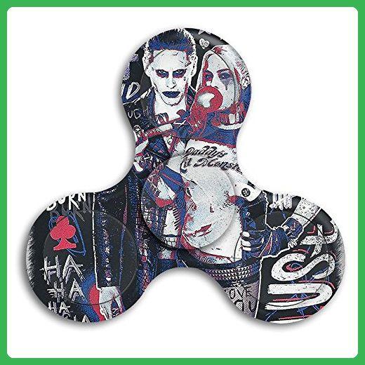 Suicide Squad Joker & Harley Quinn Tri Spinner Fid Toy Stress