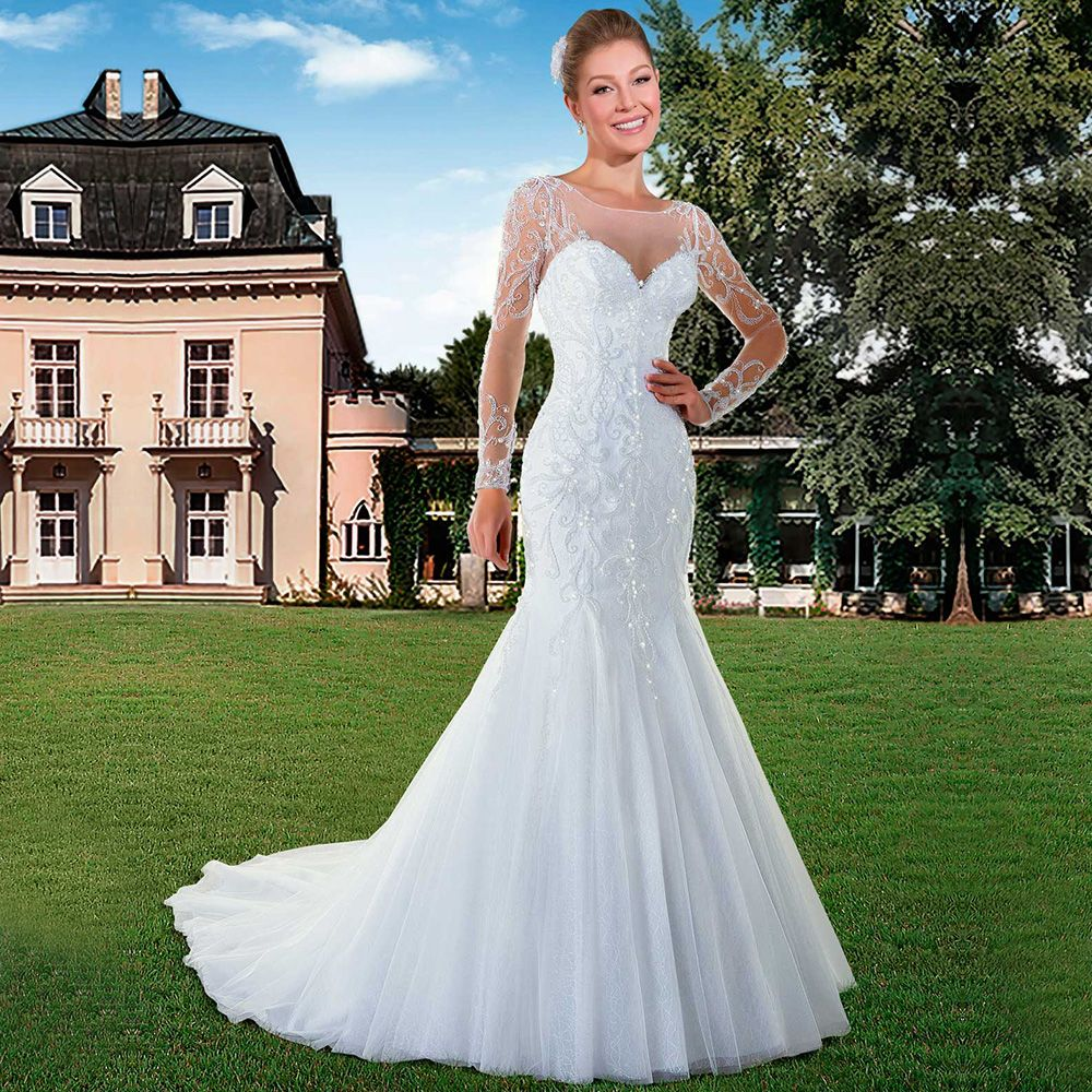 26++ White backless mermaid wedding dress ideas
