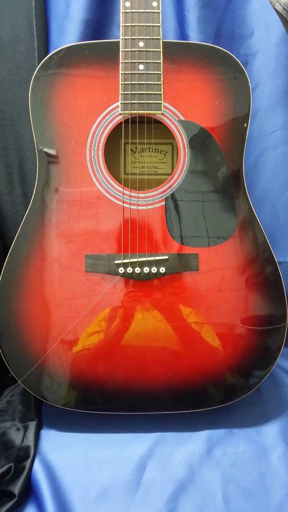Martinez Mdc 21 Acoustic Guitar Charity Auction Electric Guitar For Sale Guitar Acoustic Guitar