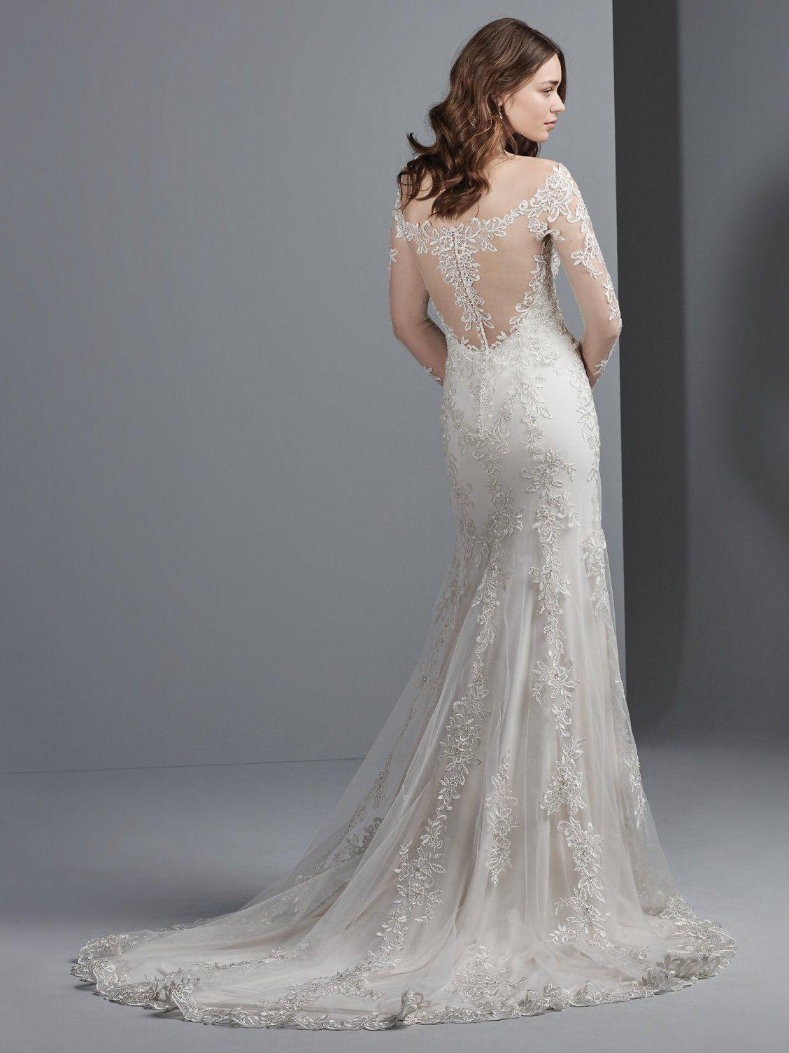 Jillianna By Sottero And Midgley Wedding Dresses Sleeved Wedding