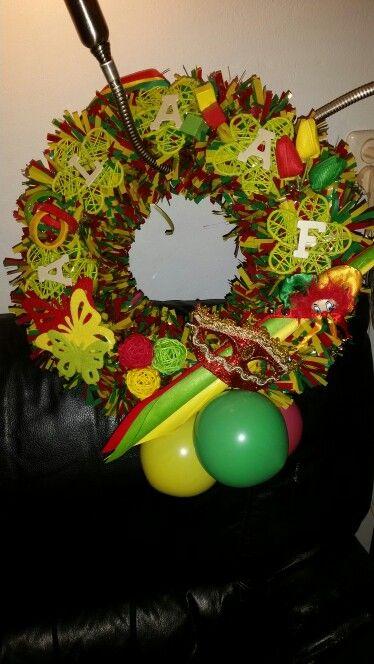 Carnavalskrans Decoratie Carnaval Decoraties Decoraties