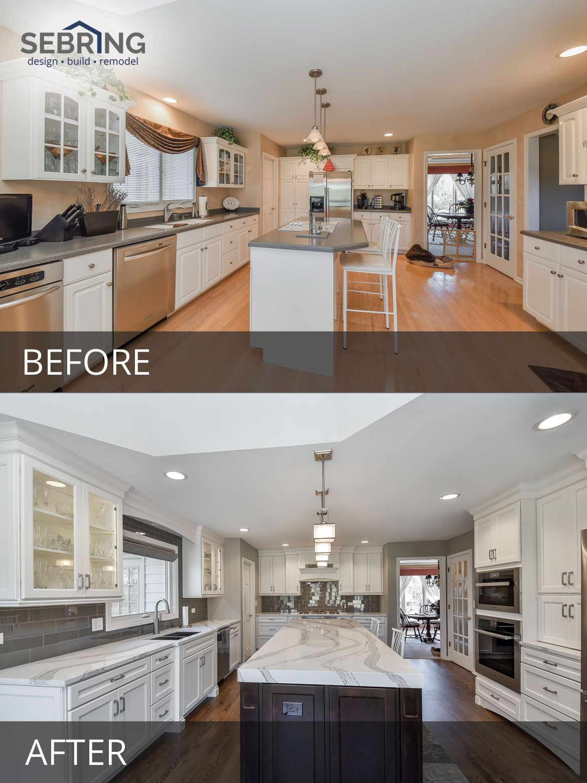 Kitchen Design Naperville French Country Curtains Dave Cathy S Before After Pictures In 2018 Decoration Remodeling And Sebring Build
