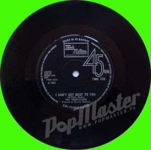 The Temptations I Can't Get Next To You TMG 722 Soul Funk Winyle