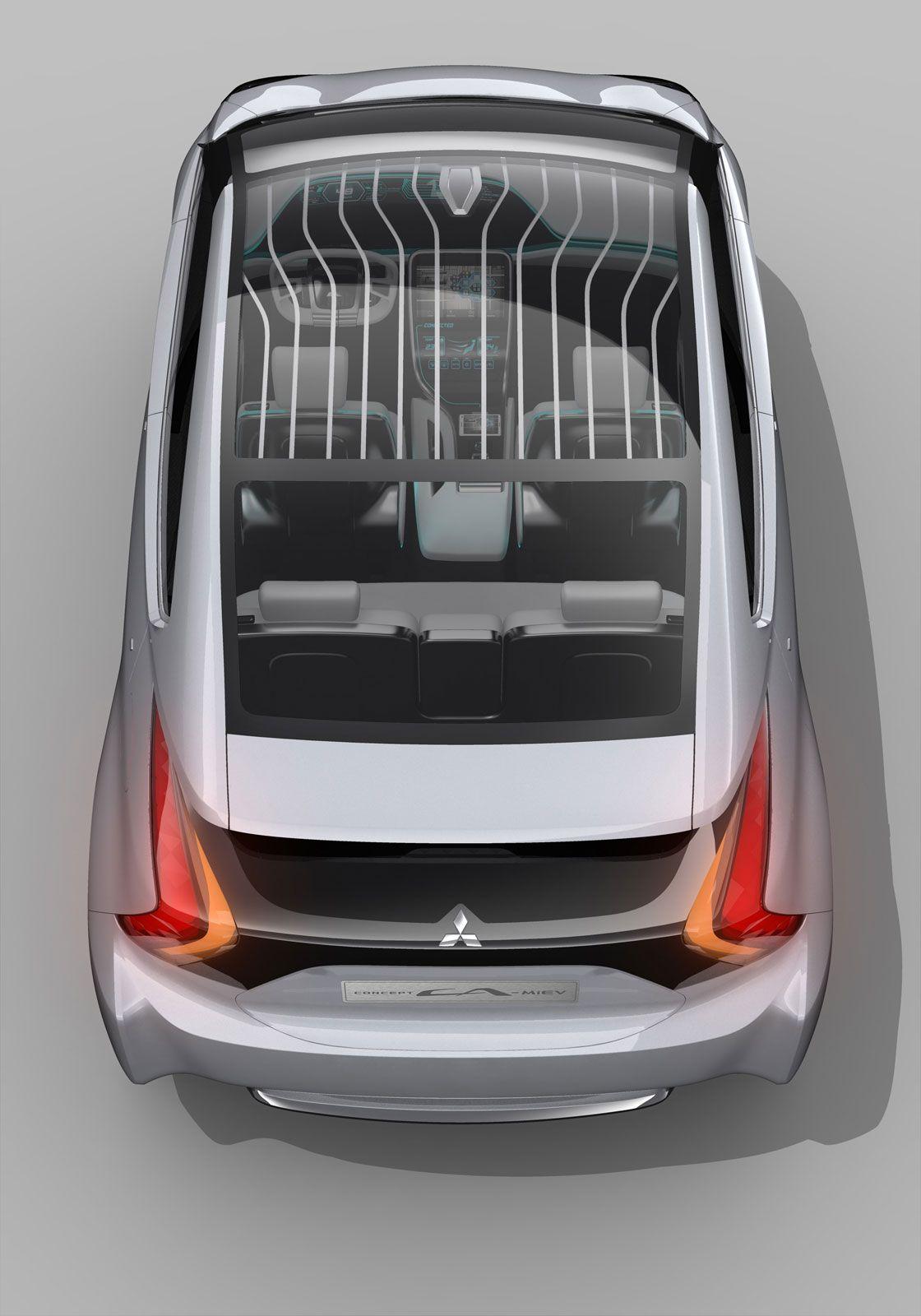2013 Mitsubishi CAMiEV Концептуальные машины