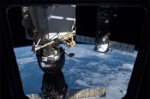 Six-Person Station Crew Enjoys Day Off Following Docking