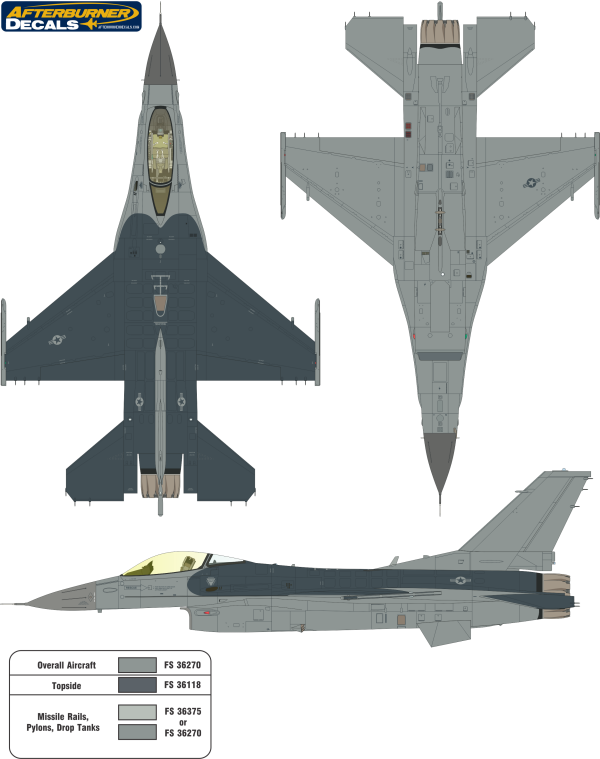 Here Is The General Dynamics F 16 Fighting Falcon Usaf Two Color Camouflage Color Profile And Paint Gu F 16 Fighting Falcon Aircraft Painting Camouflage Colors