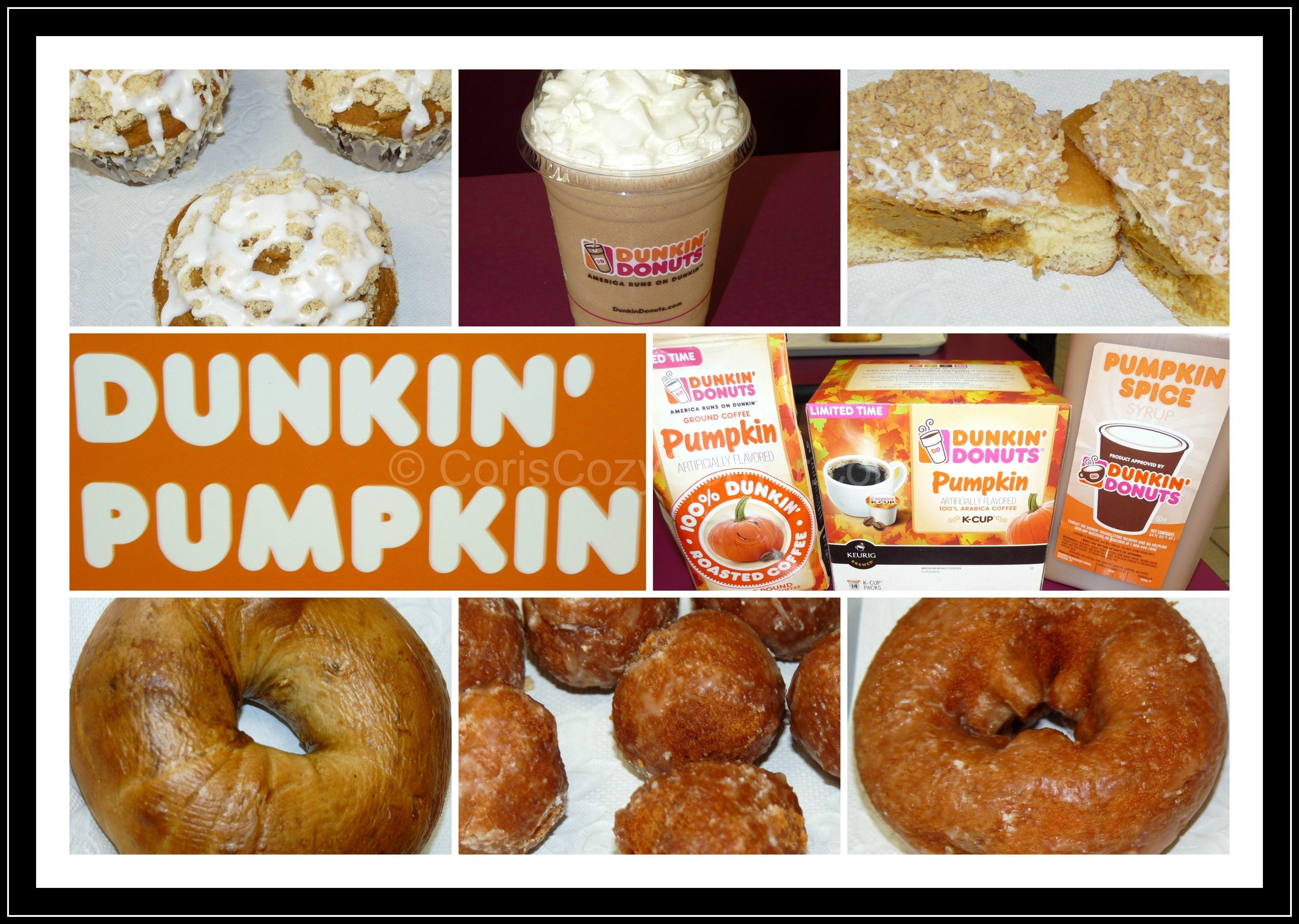 dunkin donuts fall flavors Google Search Fall menu