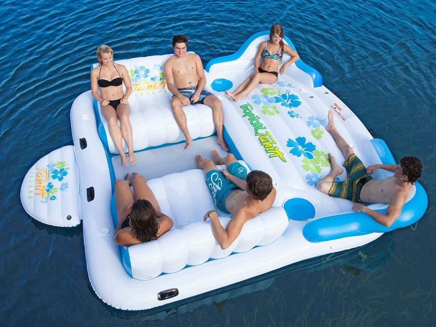 Here Are The Pool Floats You Need This Summer Inflatable Floating Island Cool Pool Floats Pool Floats