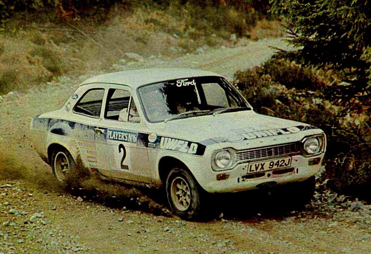 Scottish Rally 1973: Roger Clark vs Hannu Mikkola