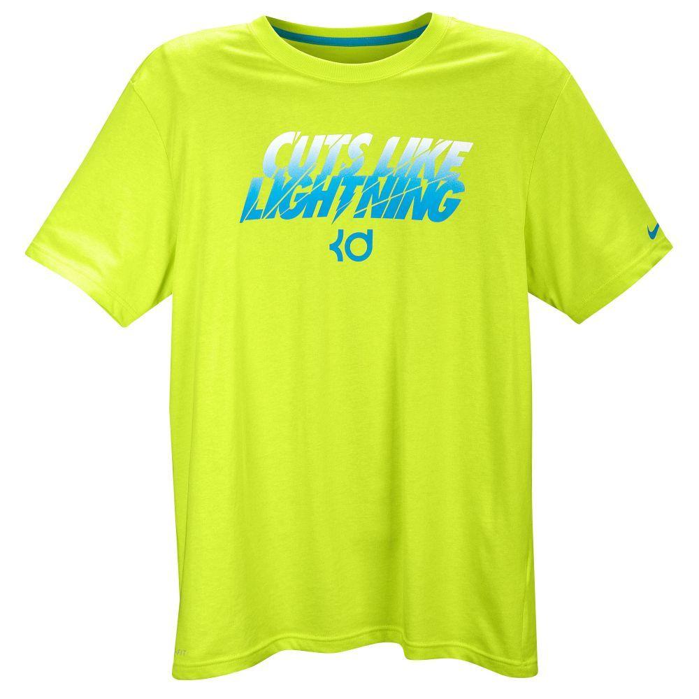 Nike KD Cuts Like Lightning T-Shirt - Men\u0027s - Basketball - Clothing - Black