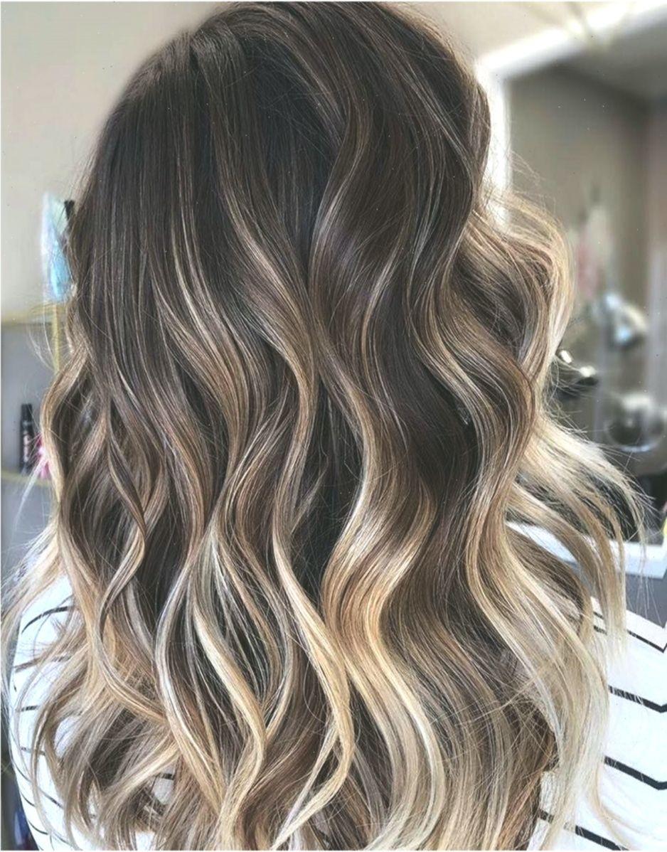 10 mittellange bis lange Frisuren - Ombre Balayage Frisuren für