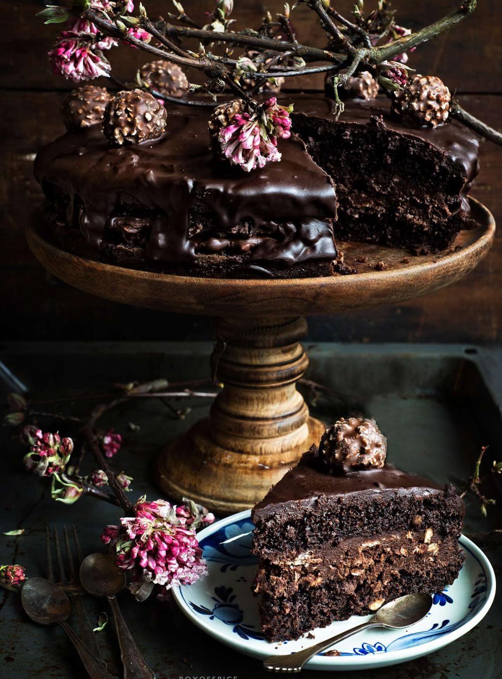Ferrero Rocher Cake | Box of Spice
