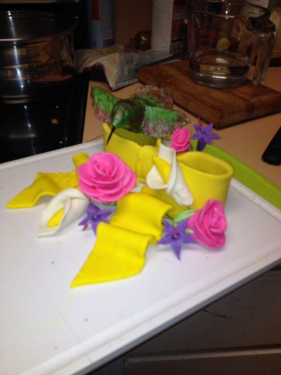 My humingbird cake topper