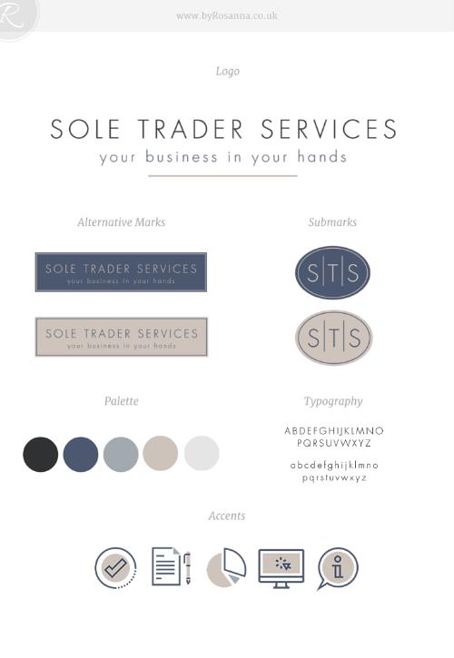 Sole Trader Services Squarespace Website Design Branding Design Branding