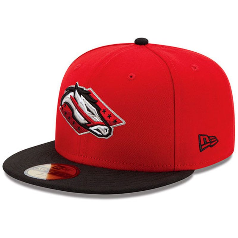 Arkansas travelers new era authentic 59fifty fitted hat