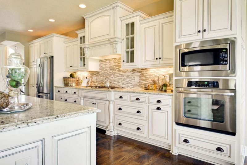 Splashback Ideas White Kitchen Part - 29: (43+) Best Kitchen Splashback Ideas That Make You Inspired (COOL!)
