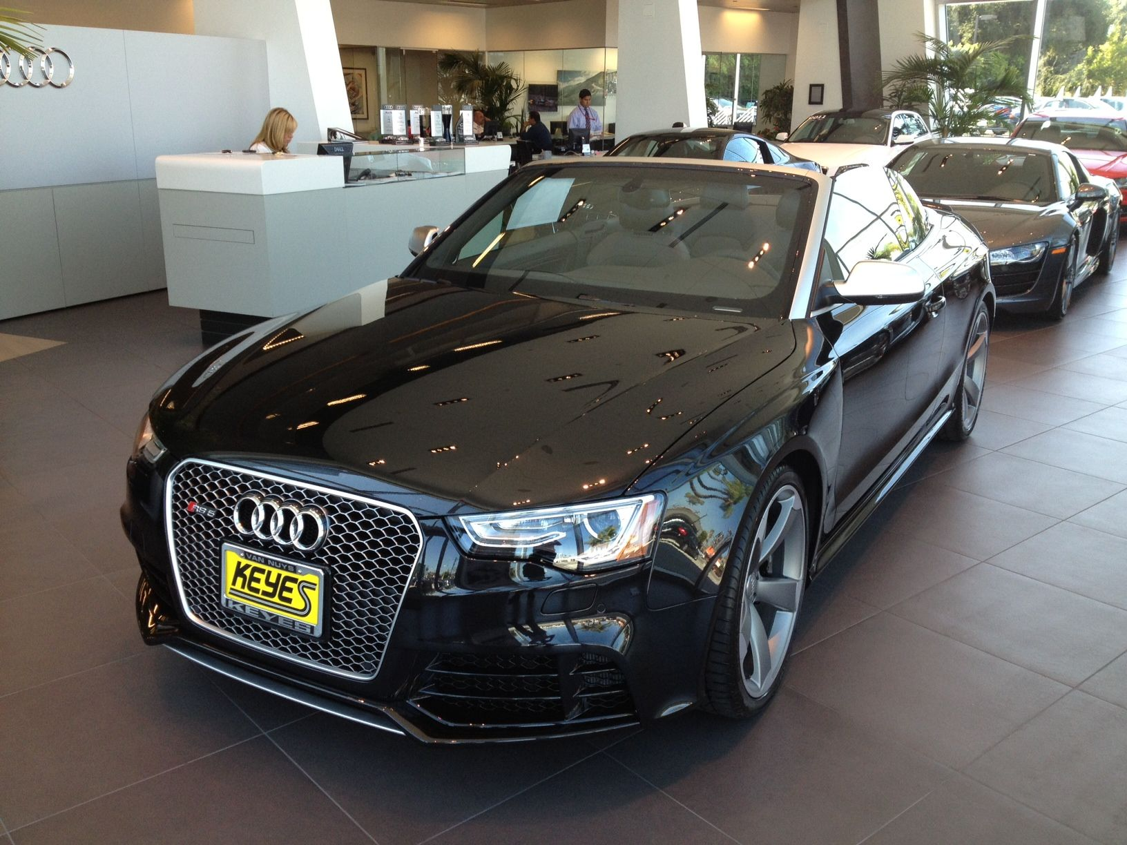 Charmant 2014 Audi RS5 Cabriolet Has Arrived At Keyes Audi. This Very Rare Audi Is  Panther