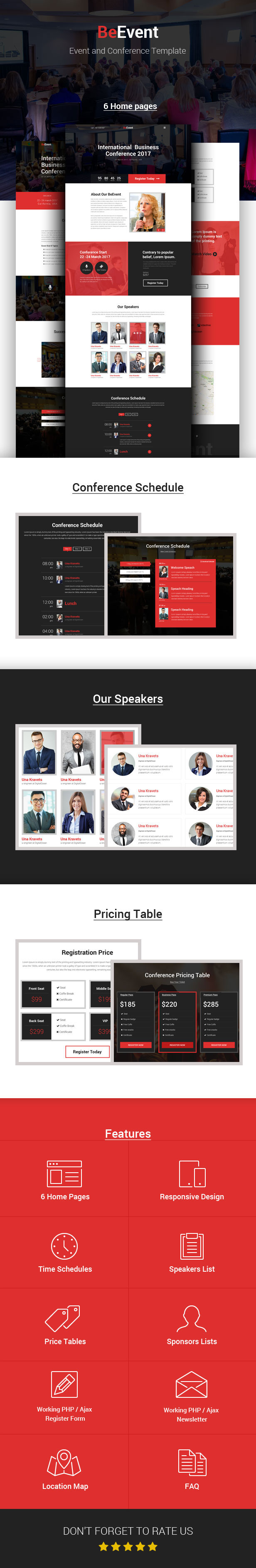 Beevent  Conference  Event Html Template  Conference Meeting