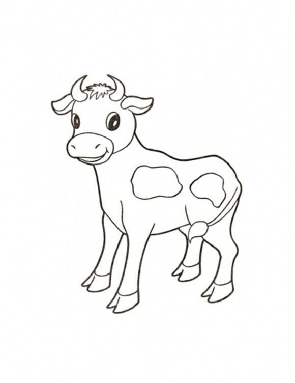 Cute Farm Animal Coloring Pages A Hen And Chick