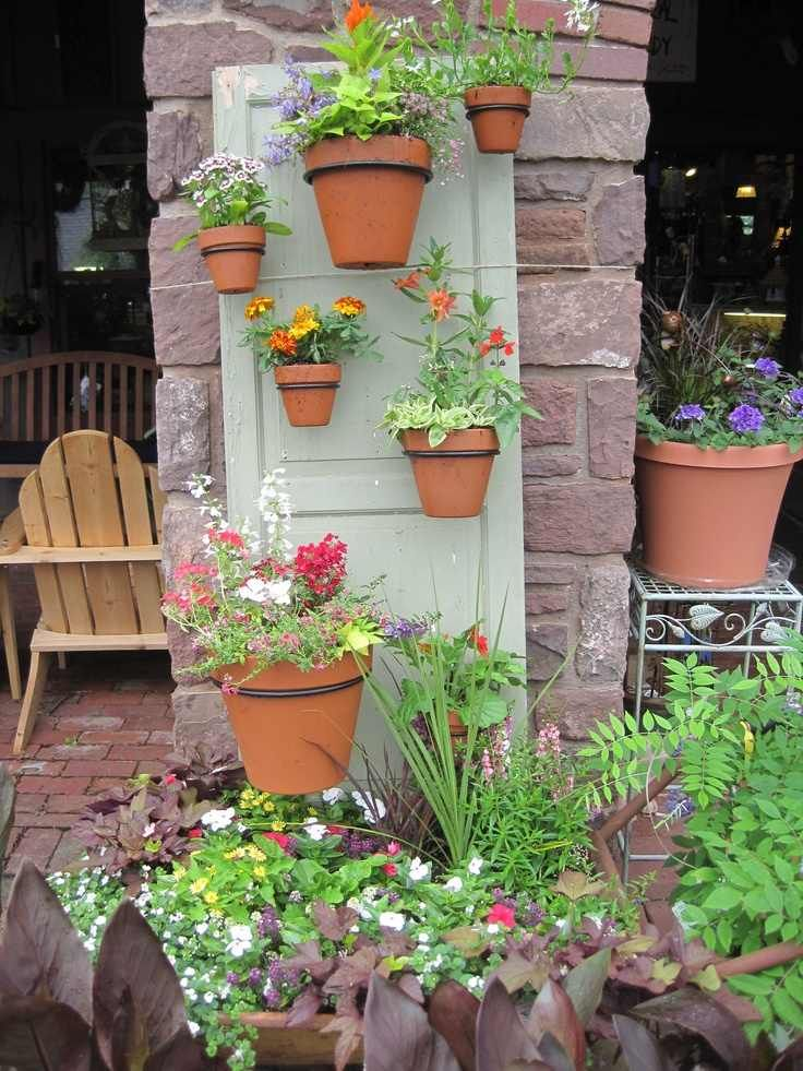 55 idées déco jardin \u2013 réutiliser les vieilles portes et fenêtres