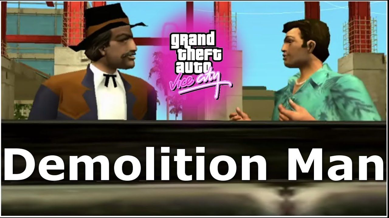 GTA: Vice City - Demolition Man Walkthrough Playthrough
