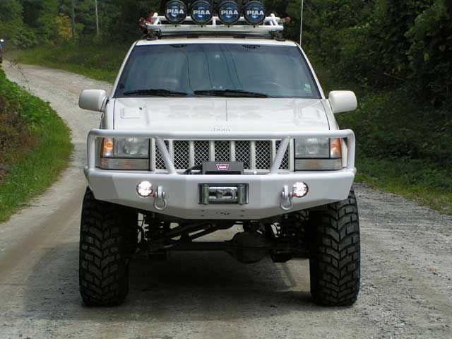 Trailready Full Guard Front Bumper Jeep Grand Cherokee 99 04 Jeep Grand Cherokee Jeep Zj Jeep