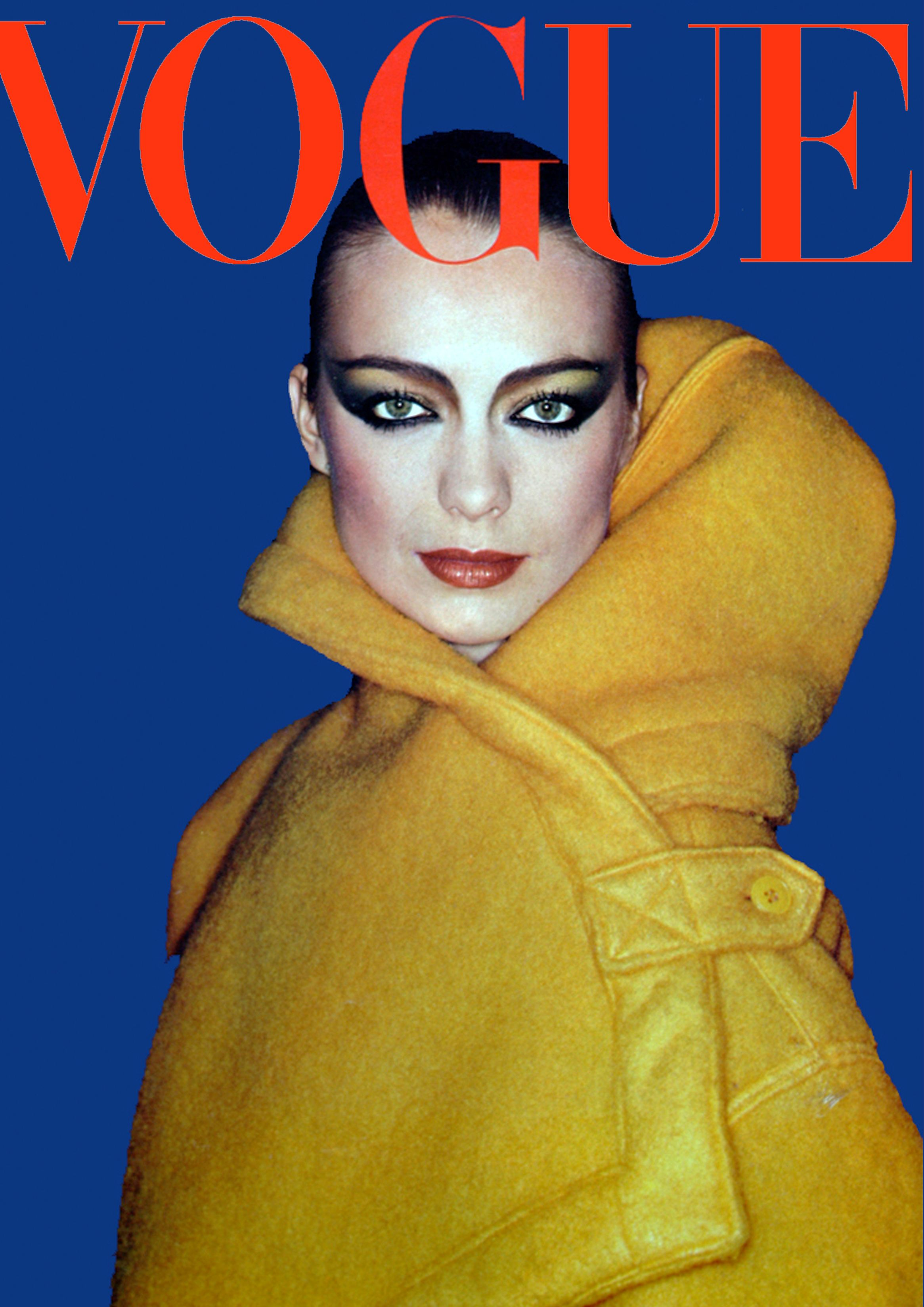 Vogue Magazine not sure what year this is from Ive seen both 1976 and 1981, it looks more 80s to me.
