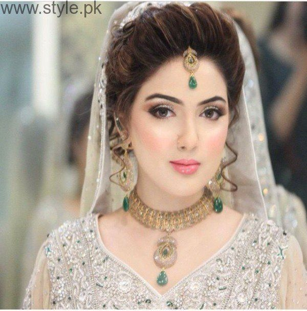 Hairstyles Pakistani Waleema: Bridal Walima Makeup Ideas 2017