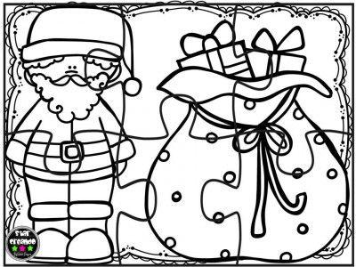Puzzles navidad para colorear (2) navidad Pinterest Printable - navidad para colorear