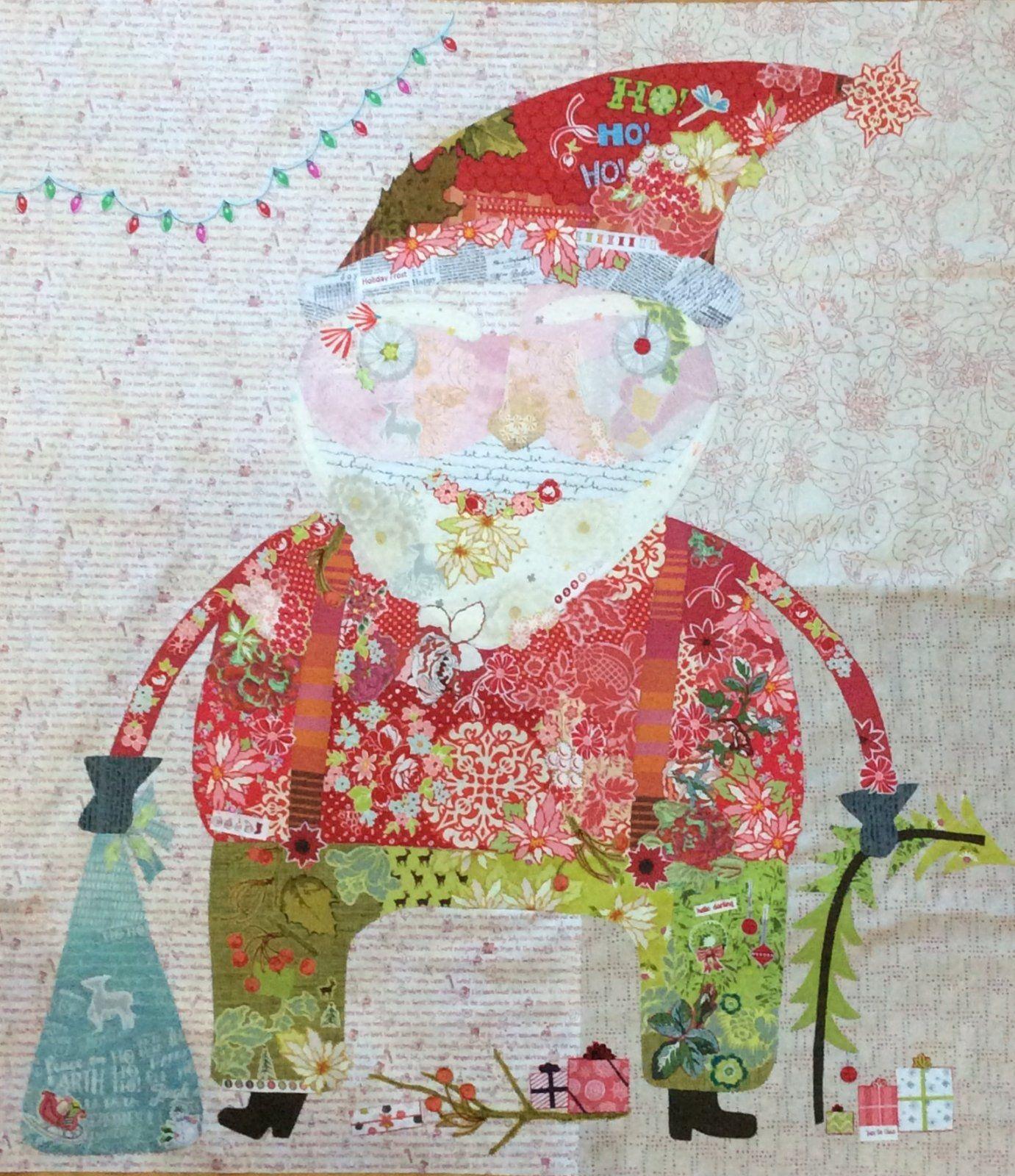 Nick Santa Collage Kit By Laura Heine Laura Heine